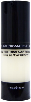 Baño, Belleza, Maquillaje, Imprimaciones Faciales Studio Makeup, Soft Illusion Face Primer, 1 fl oz (30 ml)