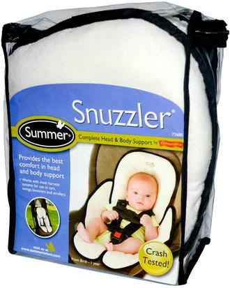 Salud Infantil, Bebé, Niños, Accesorios De Viaje Para Bebé Summer Infant, Snuzzler, Complete Head & Body Support from Birth - 1 Year