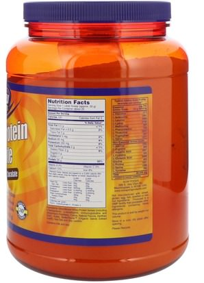 Now Foods, Sports, Whey Protein Isolate, Dutch Chocolate, 1.8 lbs (816 g) Suplementos, Proteína De Suero De Leche
