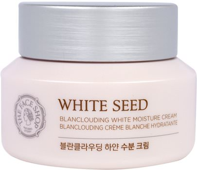 Baño, Belleza, Loción Corporal The Face Shop, White Seed, Blanclouding White Moisture Cream, 1.69 fl. oz (50 ml)