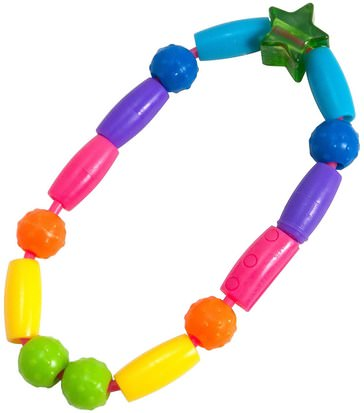 Salud Para Niños, Juguetes Para Niños, Juguetes Para La Dentición The First Years, Bright Beads, Teething Toy, 3 + Months, 1 Teething Toy