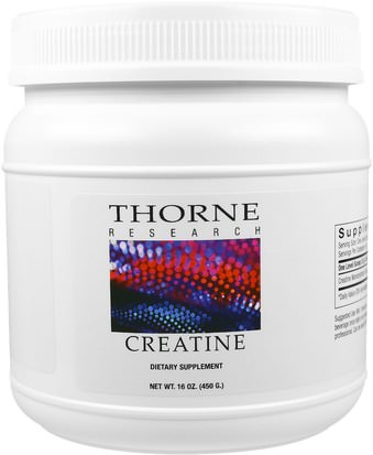 Deportes, Creatina Thorne Research, Creatine, 16 oz (450 g)