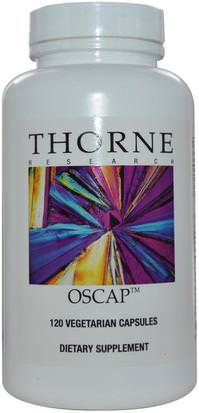 Salud, Hueso, Osteoporosis, Menopausia Thorne Research, Oscap, 120 Vegetarian Capsules