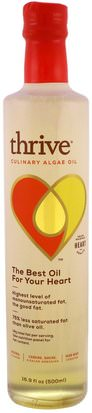 Suplementos, Efa Omega 3 6 9 (Epa Dha), Dha Thrive, Culinary Algae Oil, 16.9 fl oz (500 ml)