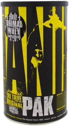 Deportes Universal Nutrition, Animal Pak, Training Supplement, 44 Packs