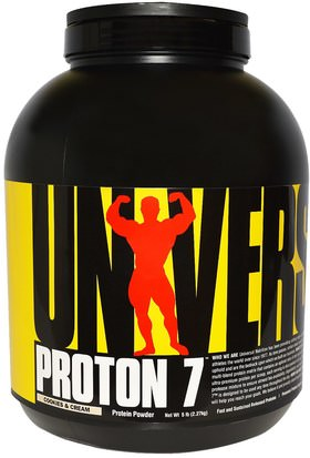 Proteína Deportiva Universal Nutrition, Proton 7, Cookies & Cream, 5 lb (2.27 kg)