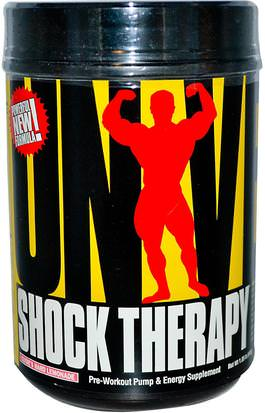 Entrenamiento, Deportes, Óxido Nítrico Universal Nutrition, Shock Therapy, Pre-Workout Pump & Energy, Clydes Hard Lemonade, 1.85 lbs (840 g)