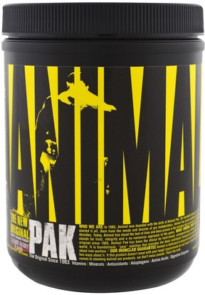 Deportes, Músculo Universal Nutrition, The Original Animal Pak, Animal Training Powder, Cherry Berry, 369 g