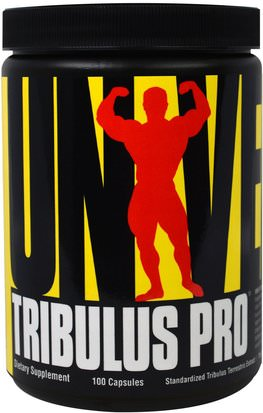 Tribulus Universal Nutrition, Tribulus Pro, Standardized Tribulus Terrestris Extract, 100 Capsules