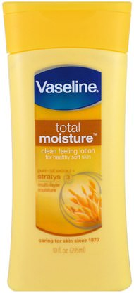 Baño, Belleza, Loción Corporal Vaseline, Total Moisture, Clean Feeling Lotion, 10 fl oz (295 ml)