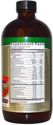 Natures Answer, Liquid Multiple Vitamins, 16 fl oz (480 ml) Vitaminas, Multivitaminas, Multivitaminas Líquidas