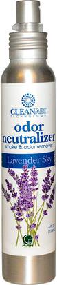 Desodorante Casero, Ambientadores Way Out Wax, CleanAir Technology, Odor Neutralizer, Lavender Sky, 4 fl oz (118 ml)