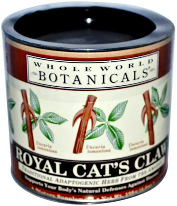 Hierbas, Garra De Gato (Ua De Gato) Whole World Botanicals, Royal Cats Claw, 4.4 oz (125 g)