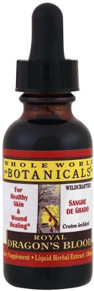 Hierbas, Salud Whole World Botanicals, Royal Dragons Blood Liquid Extract, 1 fl oz (30 ml)