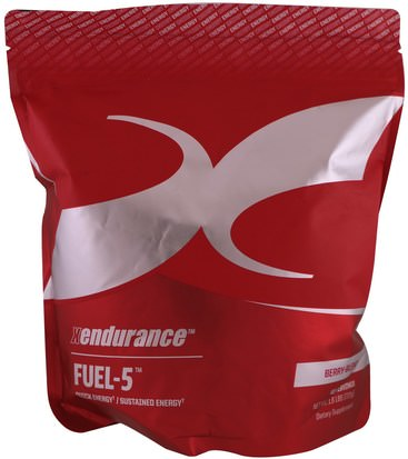 Deportes, Músculo Xendurance, Fuel-5, Berry-Blend, 1.6 lbs (720 g)
