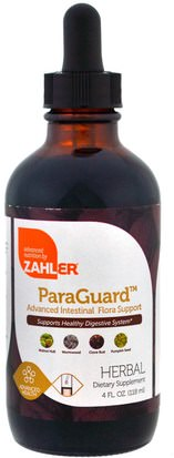 Salud Zahler, ParaGuard, Advanced Intestinal Flora Support, 4 fl oz (118 ml)